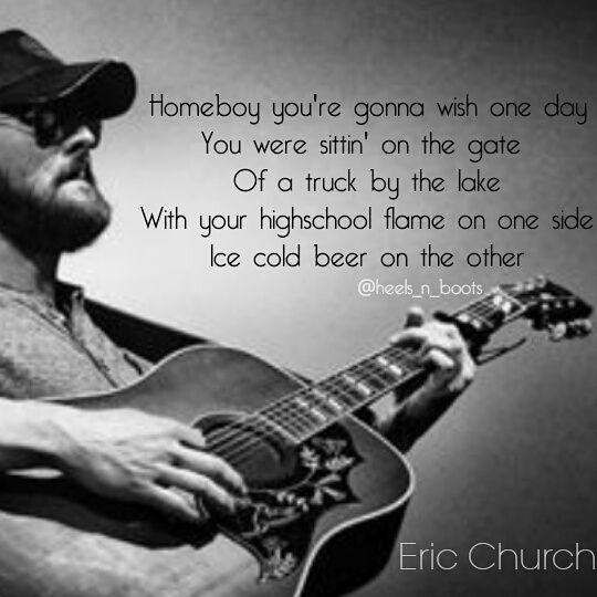 Eric Church - Homeboy #country #countrymusic #countrymusiclyrics ...