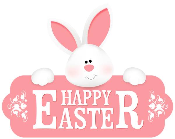 Happy Easter With Bunny Png Clipart Image Easter Images Clip Art Happy Easter Pictures Easter Images