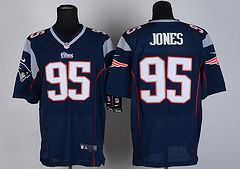 Buy Cheap Nike #95 New England Patriots NFL Jerseys Blue Wholesale Online! Price is 35$ !