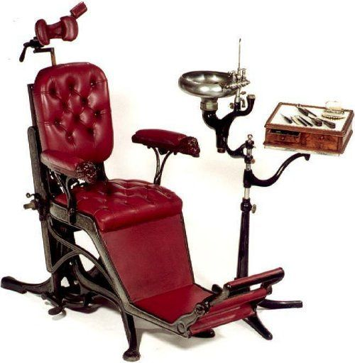 Old Dentist Chair