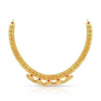Malabar Gold Necklace Kasu mala Pinterest Gold necklaces