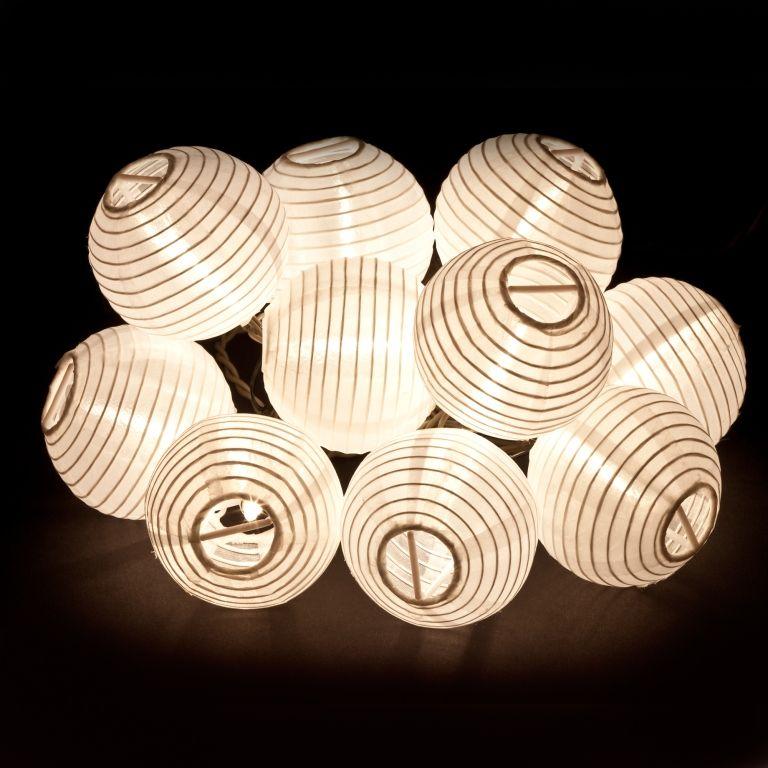 Led Lights For Chinese Lanterns Hanging Light String White