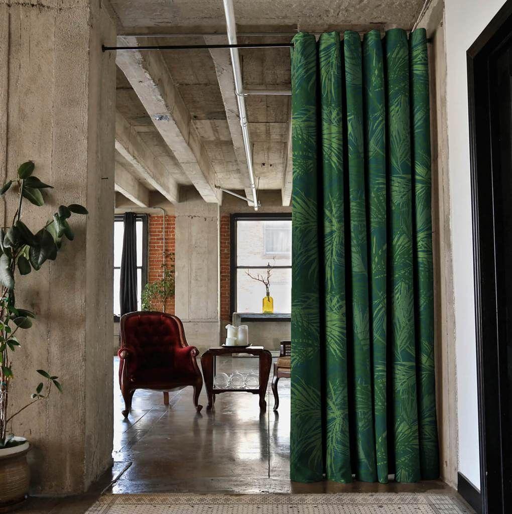 Tension Rod Room Divider Kits Room divider curtain