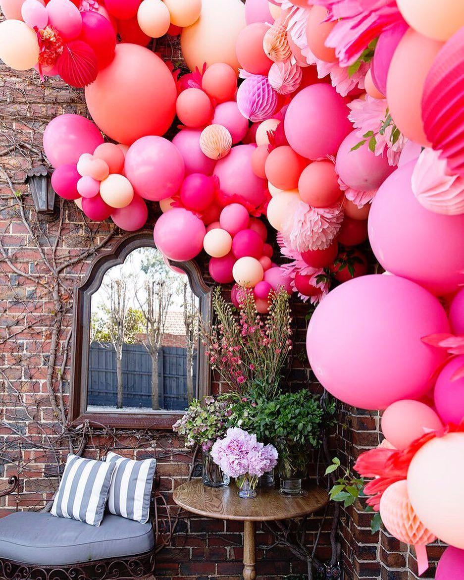 Анимация, картинки с цветами и шариками воздушными
