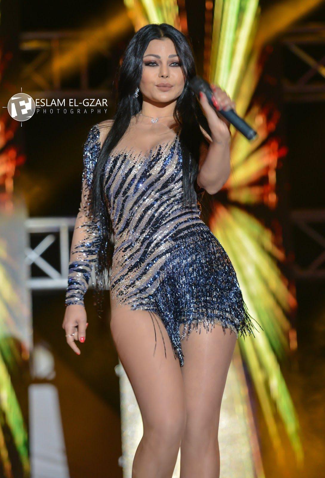 صور هيفاء وهبي بفستان عاري يكشف جسمها ساخنة مثيرة Haifa Wehbe Pretty Dresses Fashion