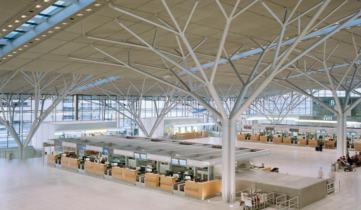 airport stuttgart terminal 3 gmp architekten von gerkan. Black Bedroom Furniture Sets. Home Design Ideas