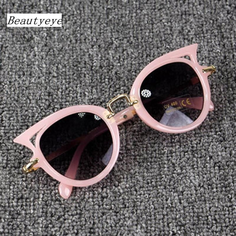 Kids Sunglasses Girls Cat Eye Children Glasses UV400 Lens  Cute Eyewear Goggles