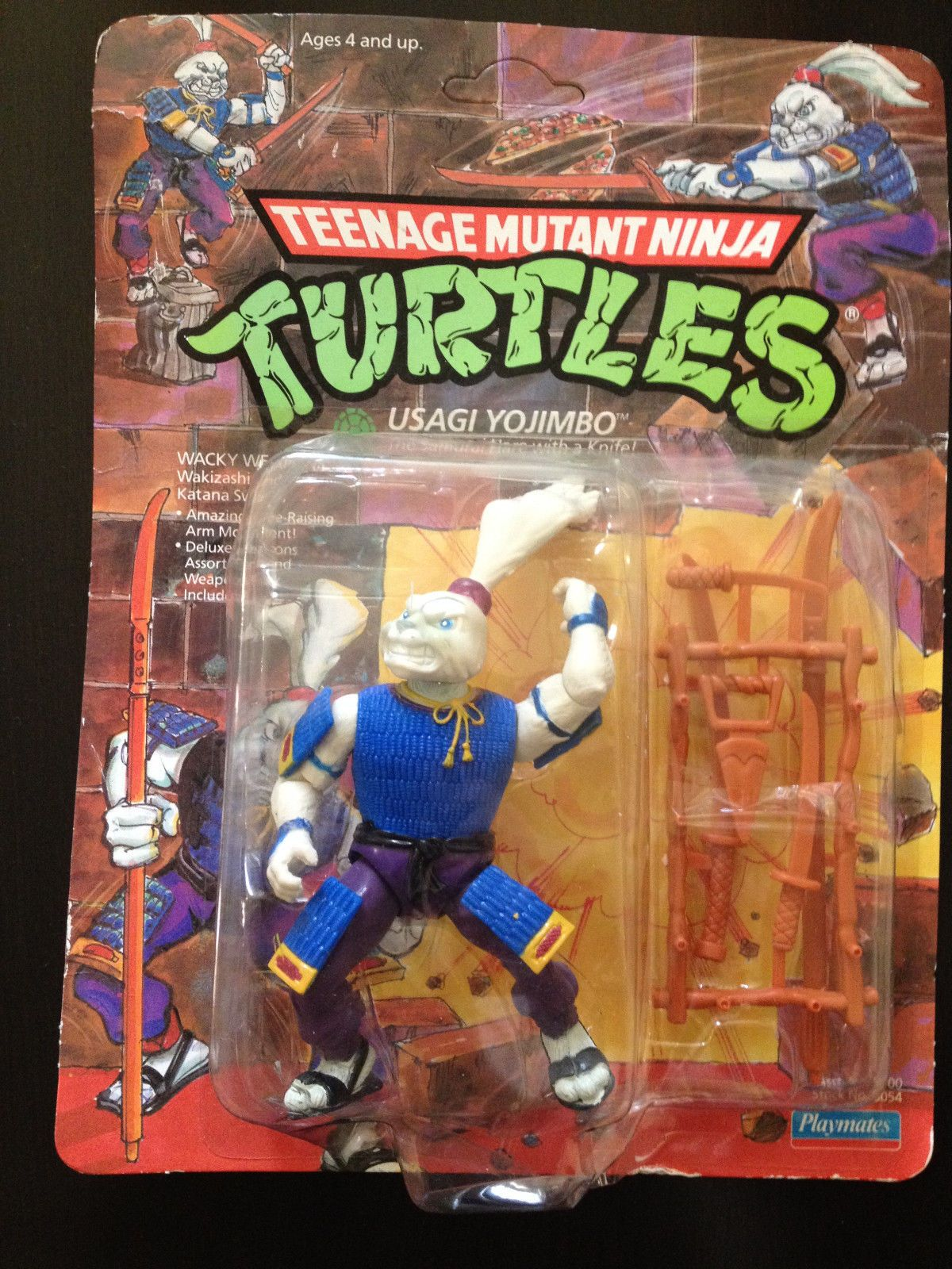 1989 Teenage Mutant Ninja Turtles Tmnt Lot Usagi Yojimbo