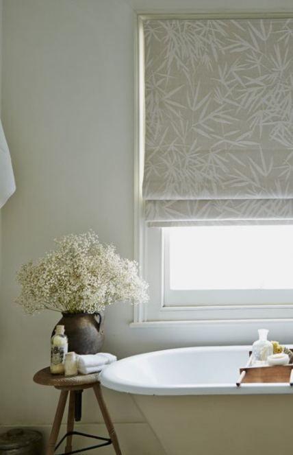 Best Bath Room Window Dressing Roman Blinds 59+ Ideas # ...