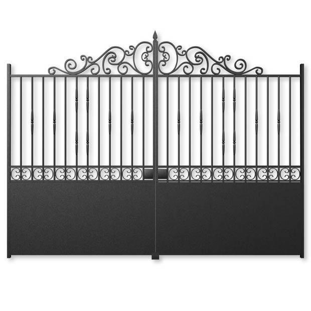 portail battant acier rambouillet home entr e pinterest rambouillet portail et acier. Black Bedroom Furniture Sets. Home Design Ideas
