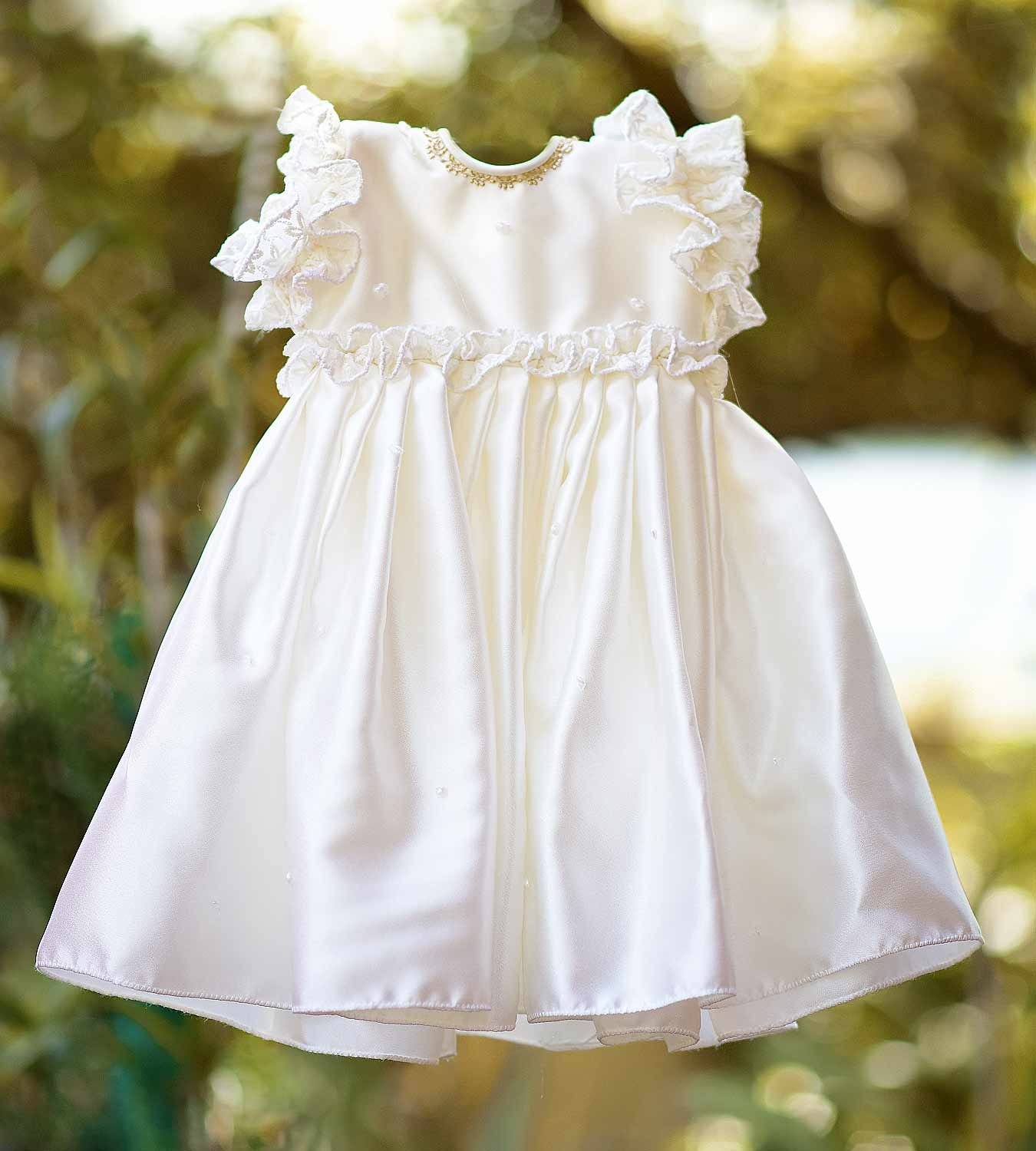 3dbd6664b Buy G 5001 Christening dress for baby girls online in india for your babies  special day. We welcome you to Navin creations exciting range of baptism  gowns.