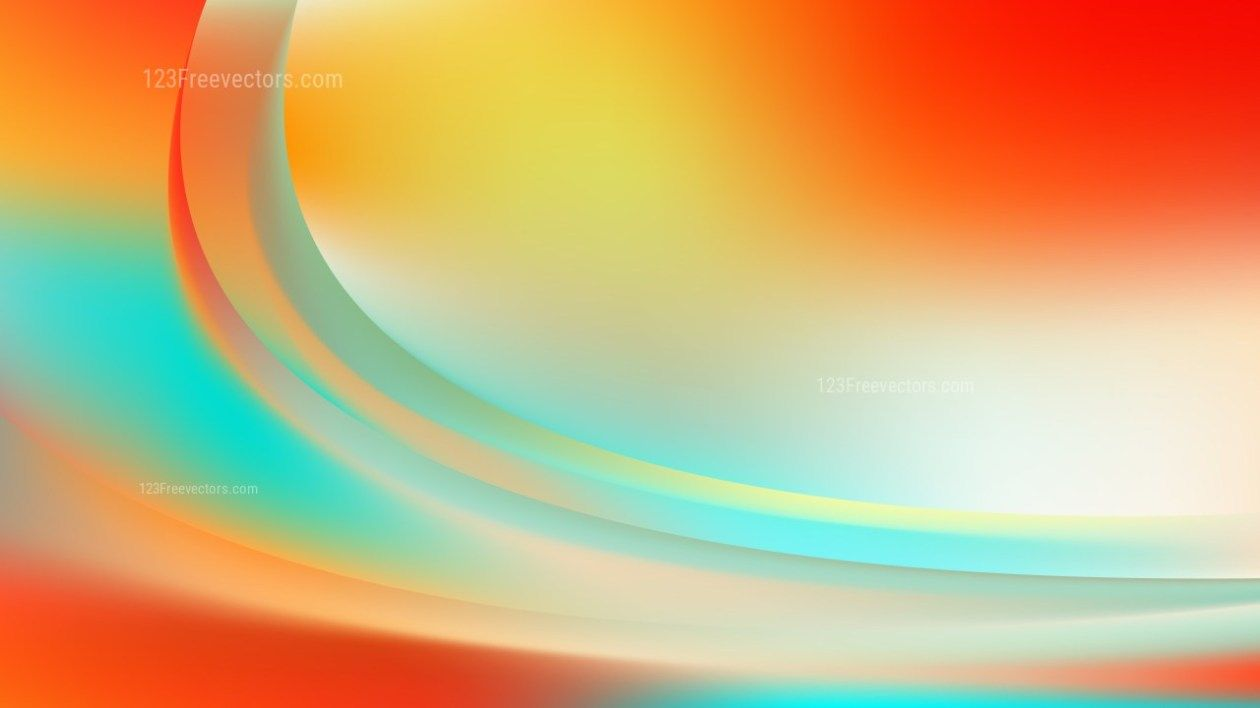 Glowing Abstract Colorful Wave Background Design In 2020 Waves