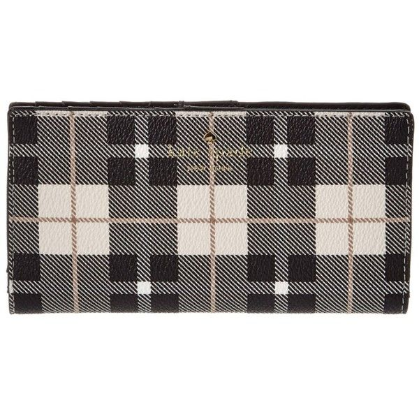 Kate Spade New York Kate Spade New York Fairmount Square Stacy Leather... (4.525 RUB) ❤ liked on Polyvore featuring bags, wallets, multi, snap bag, kate spade, kate spade bags, genuine leather wallet and snap wallet