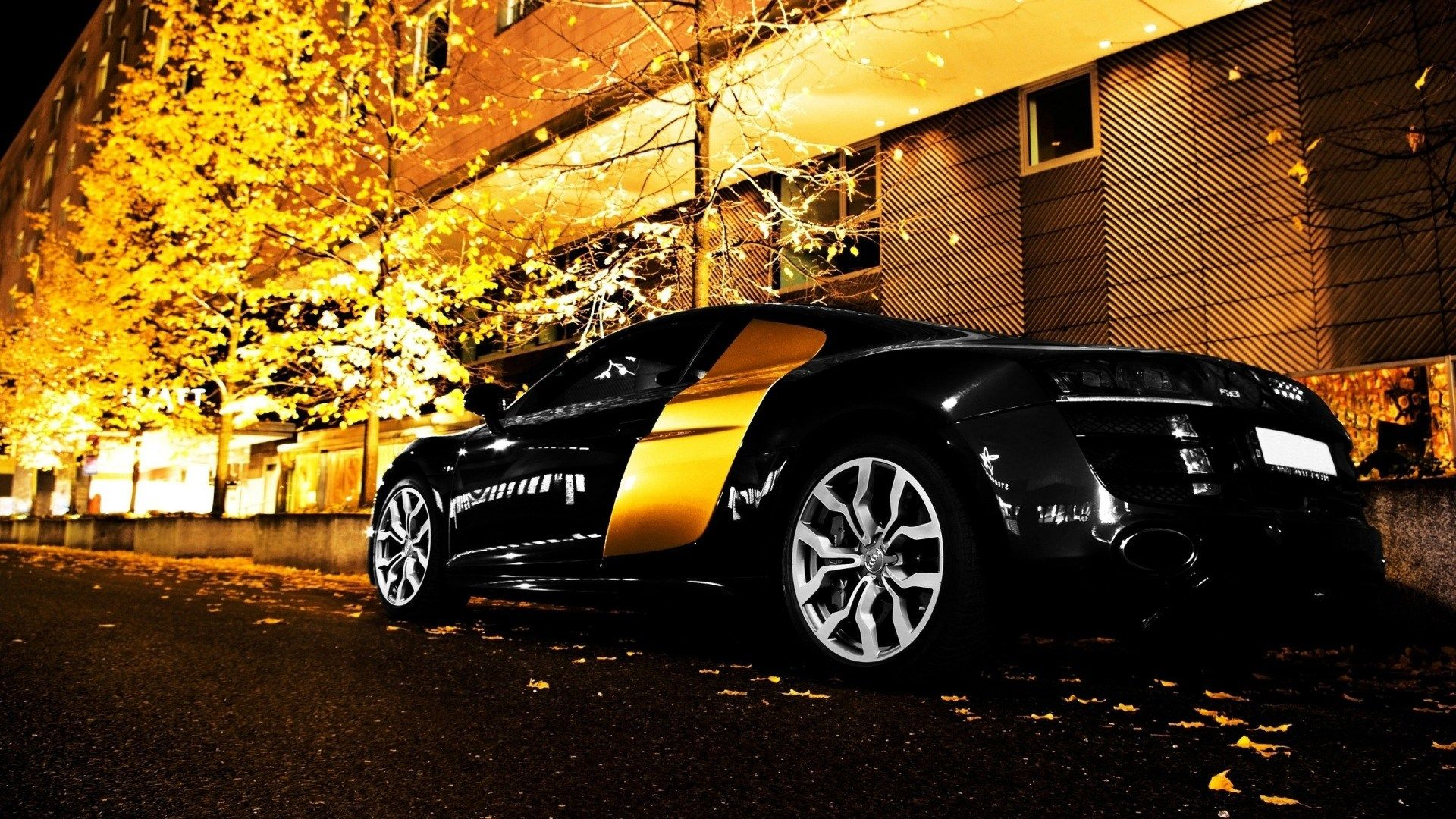 Awesome Audi R8 Sport 1080p Car Background