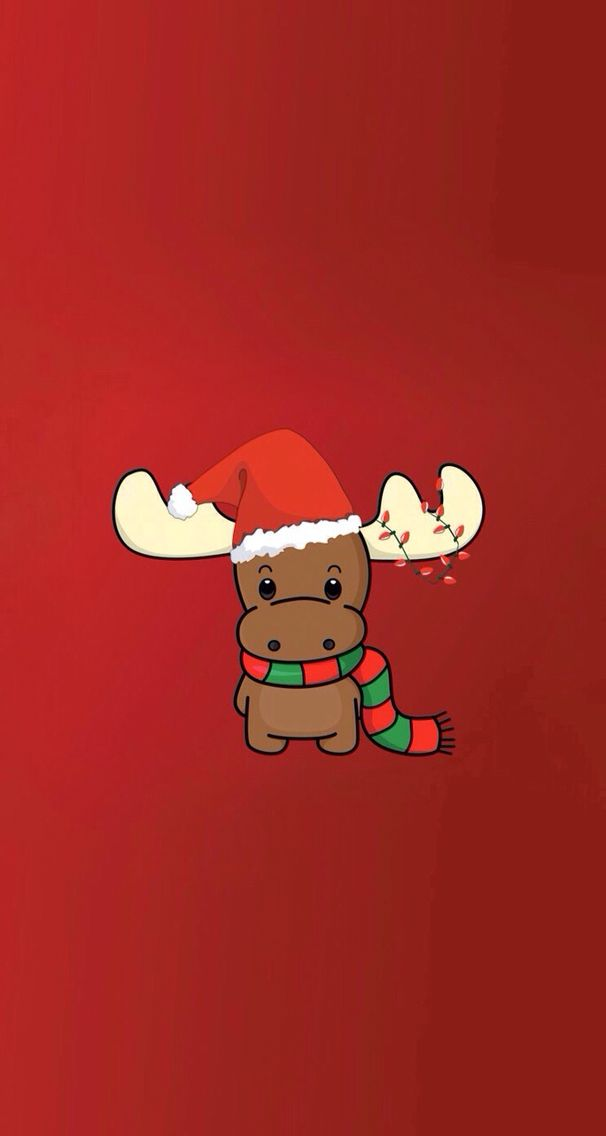 rudolph � download more christmas iphone wallpapers at