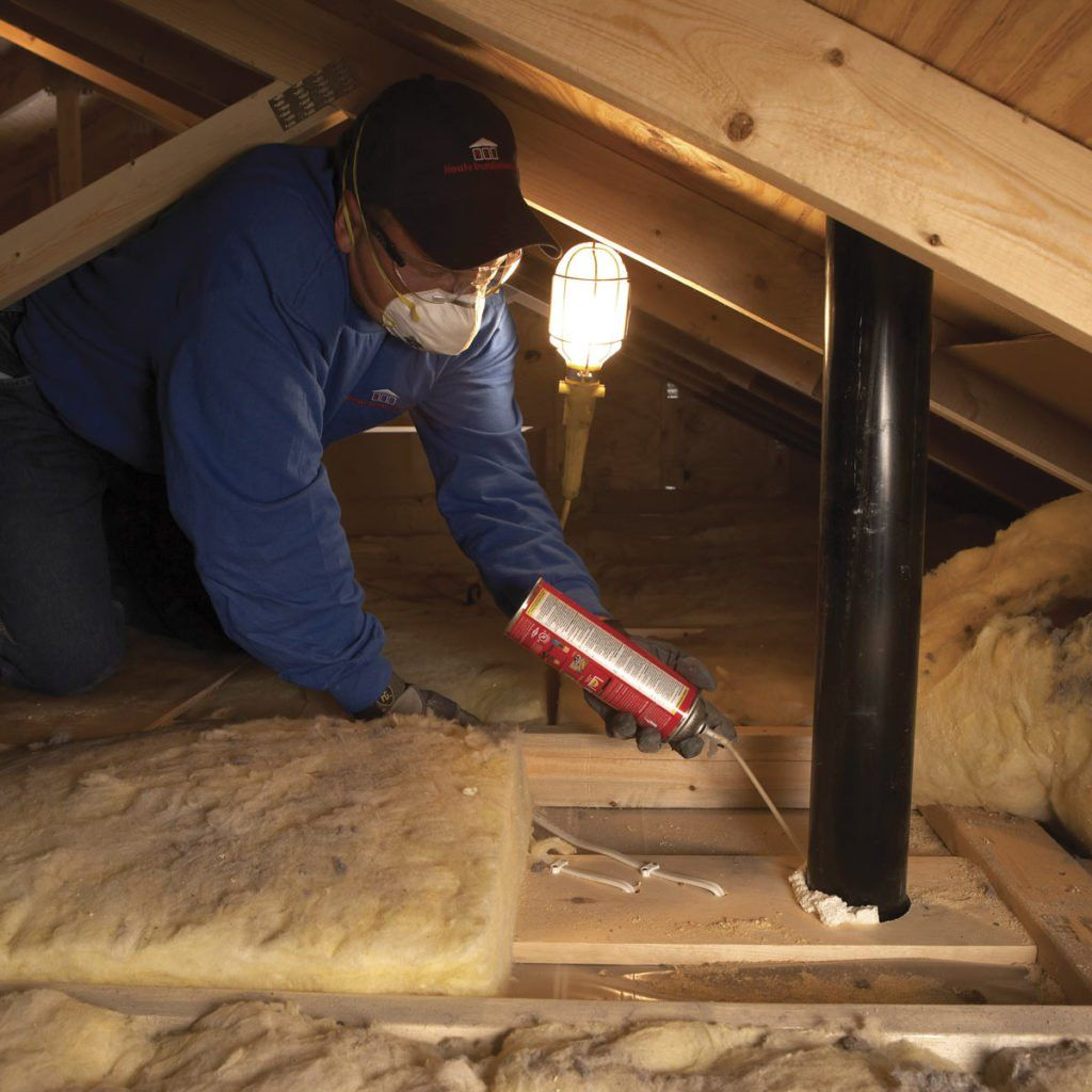 Saving Energy Blown In Insulation In The Attic In 2020 Blown In Insulation Attic Blown Insulation Attic Insulation