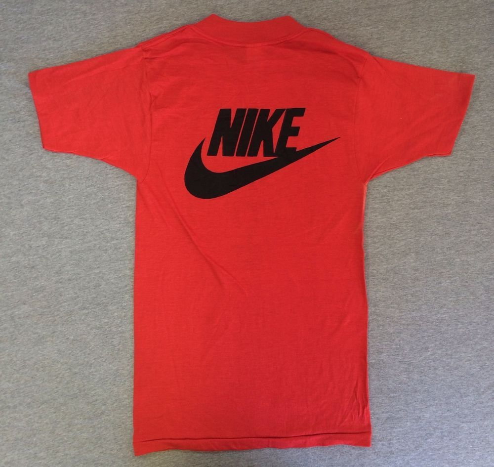 3fa811280 NIKE Shirt 70's Vintage RARE Maurice Lucas SOFT! Red 50/50 USA Made Tshirt  Small #Nike #GraphicTee