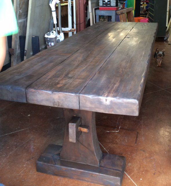 Pepper Amp Company Farm Tables Reclaimed Wood Tables Rustic Extra Table Wood Table Rustic Reclaimed Wood Table