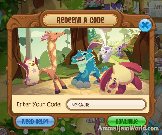 Pin by Animal Jam World on Animal Jam Codes 2017 | Animal jam codes