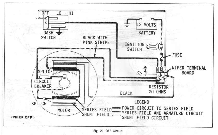 1970 Chevelle Windshield Wiper Motor Wiring Diagram ...