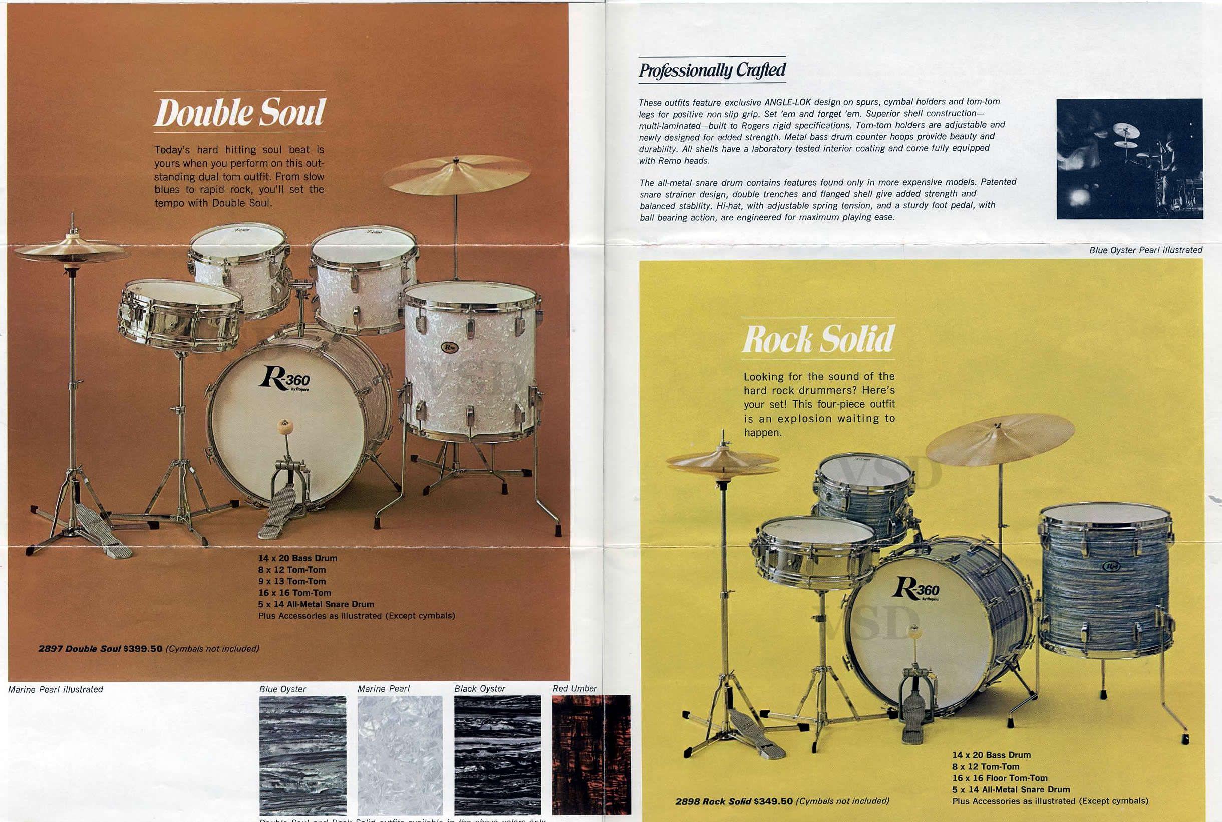 1967 Rogers drum catalogue | Drums | Pinterest | Rogers drums, Drums ...