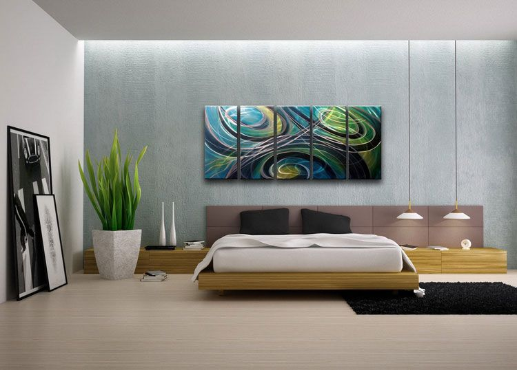 40 quadri moderni astratti per la camera da letto quadri wall decals hanging pictures e decals - Quadro camera letto ...