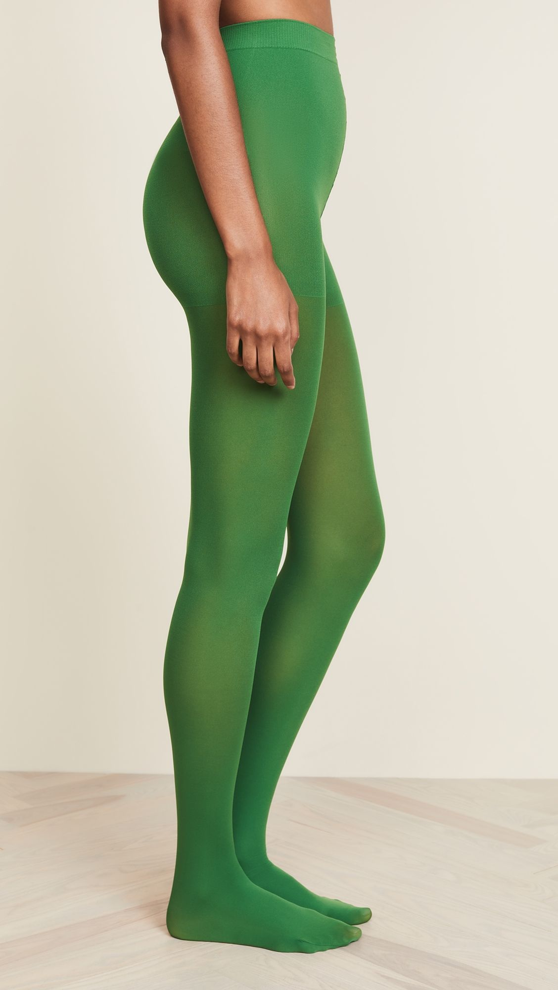 a3aab089658 Emilio Cavallini Matte Solid Tights Green Tights