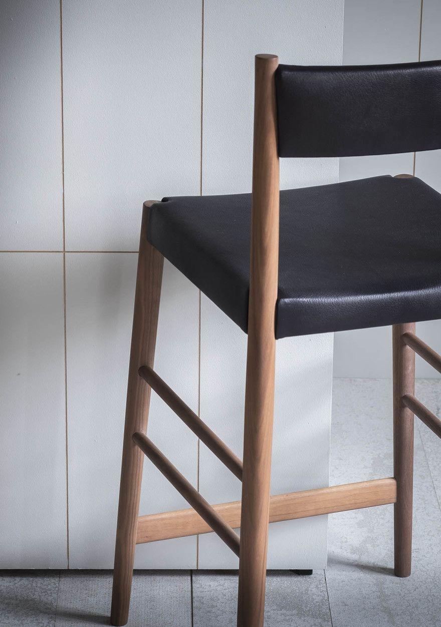 Stupendous Upholstered Avery Bar Stool Back Detail Display Fixture Uwap Interior Chair Design Uwaporg