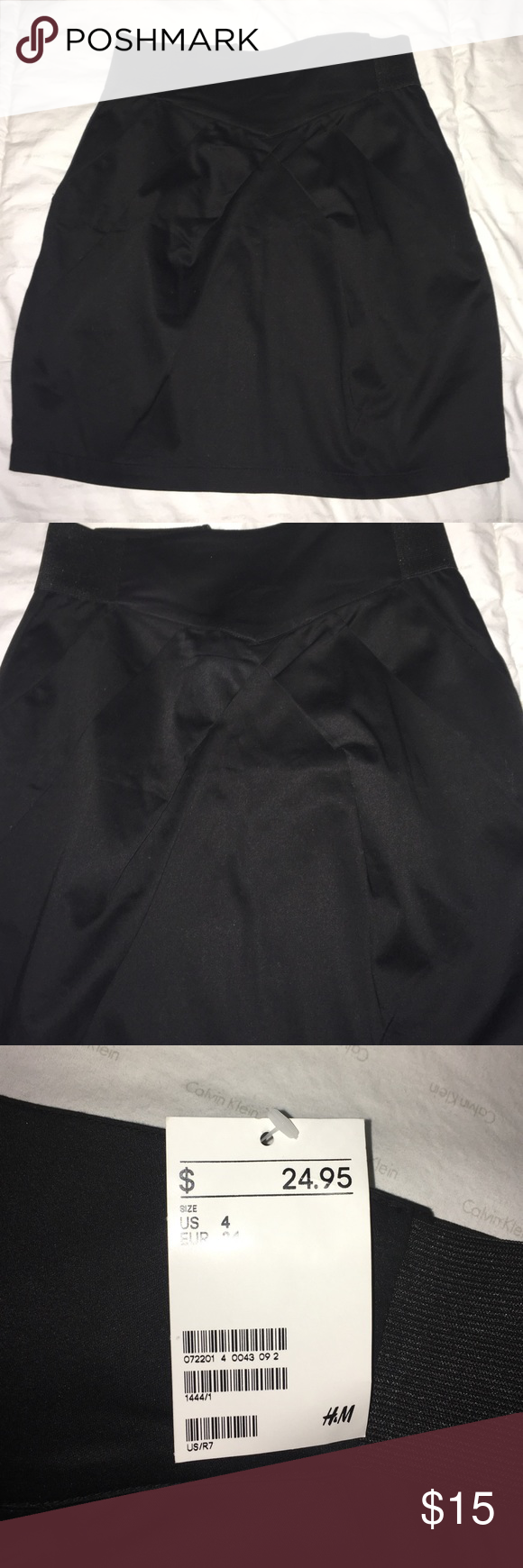 H&M Mini skirt NWT Black Mini skirt H&M Skirts Mini