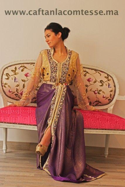 caftan; maroc ; girl ; purple