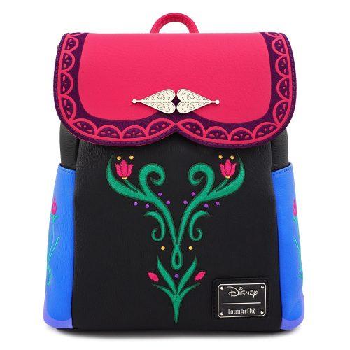 Mochila Frozen Loungefly inspirada en el vestido clásico de Anna – bolsos  – Bolsa