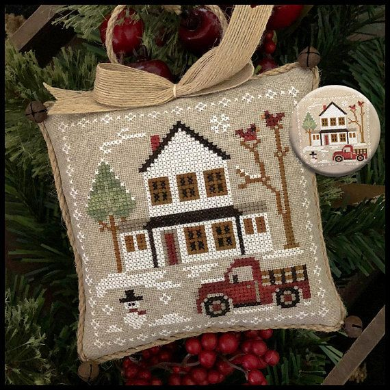 Farmhouse Christmas Grandpa S Pickup 3 By Little House