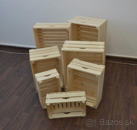 ae9aa42fc drevené bedničky/debničky/prepravky - Žilina, predám | Chalupa ...
