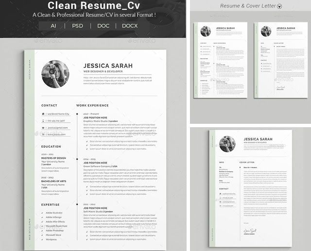 How To Make A Resume With Word Interesting Resume Word Template For Who Those Don't Have Time To Create A .