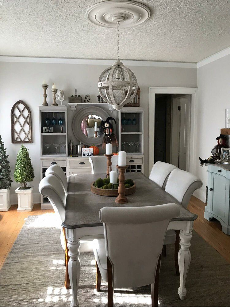 Tiphaine Extendable Dining Table In 2020 Farmhouse Dining Rooms Decor Farmhouse Dining Farmhouse Dining Room Table