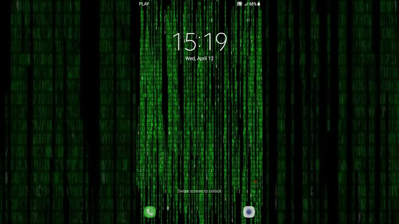 Live Wallpaper Matrix Rain Android Apps On Google Play