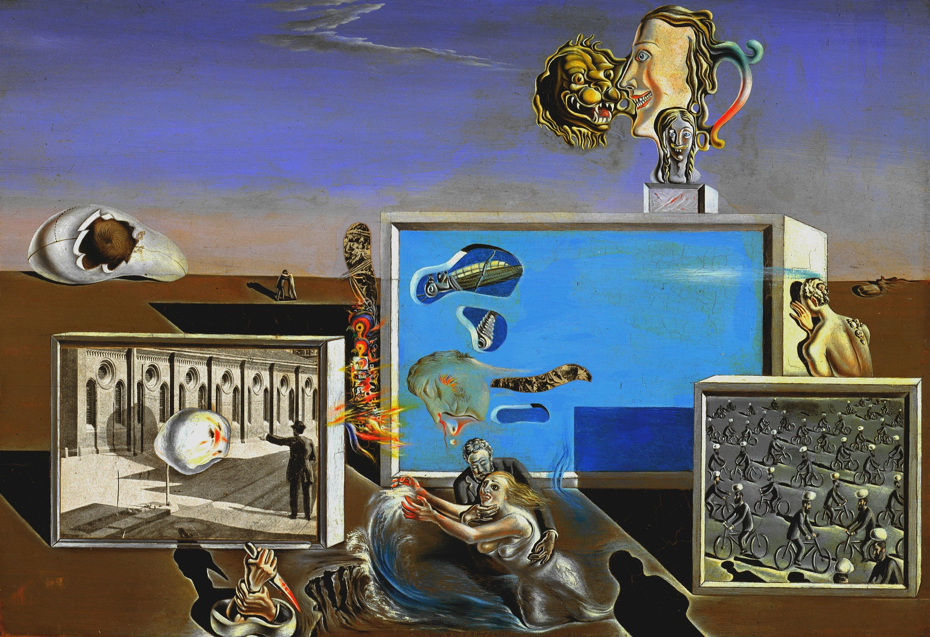 Surrealism Picture Salvador Dali Salvador Dali Enlightened Fun 2k Wallpaper Hdwallpaper Desktop In 2020 Salvador Dali Paintings Salvador Dali Art