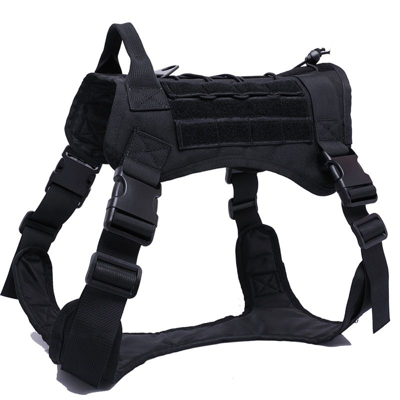 Military Tactical Dog Harness Black Harness L In 2020 Tactical
