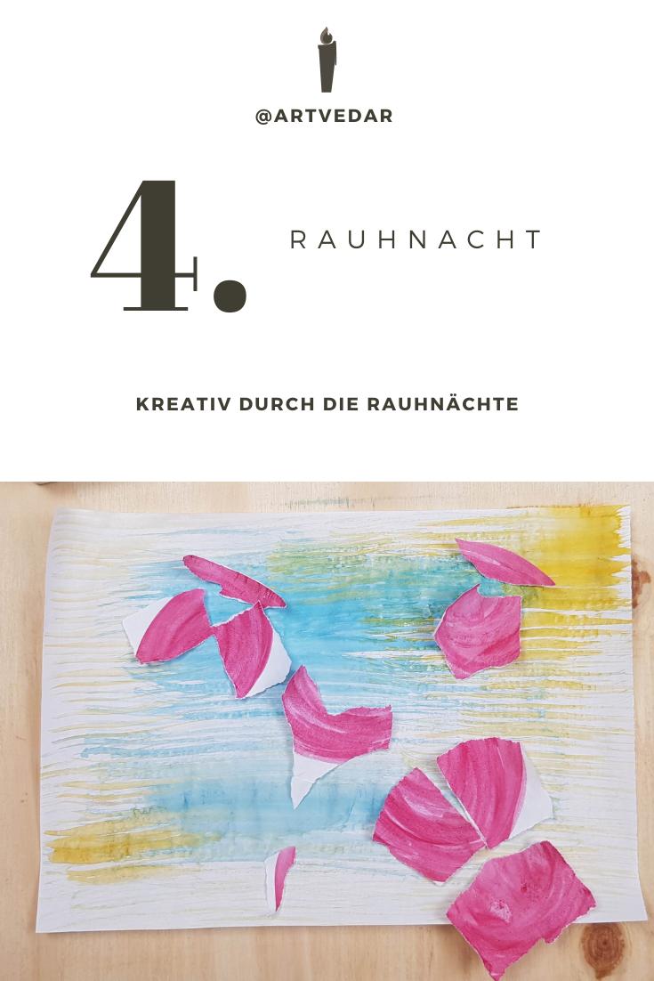 4 Rauhnacht Transformation Map Art Diagram