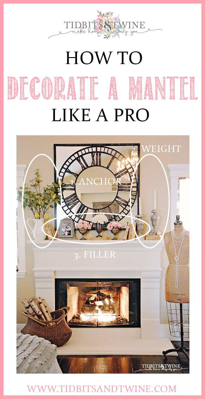Photo of How to Decorate a Mantel