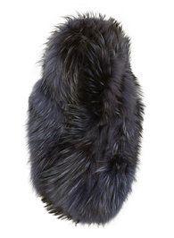 Navy Fur Cuff