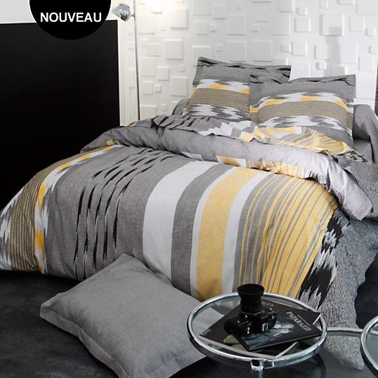 housse de couette soft tradilinge housses de couette linge de lit adulte linge de maison. Black Bedroom Furniture Sets. Home Design Ideas