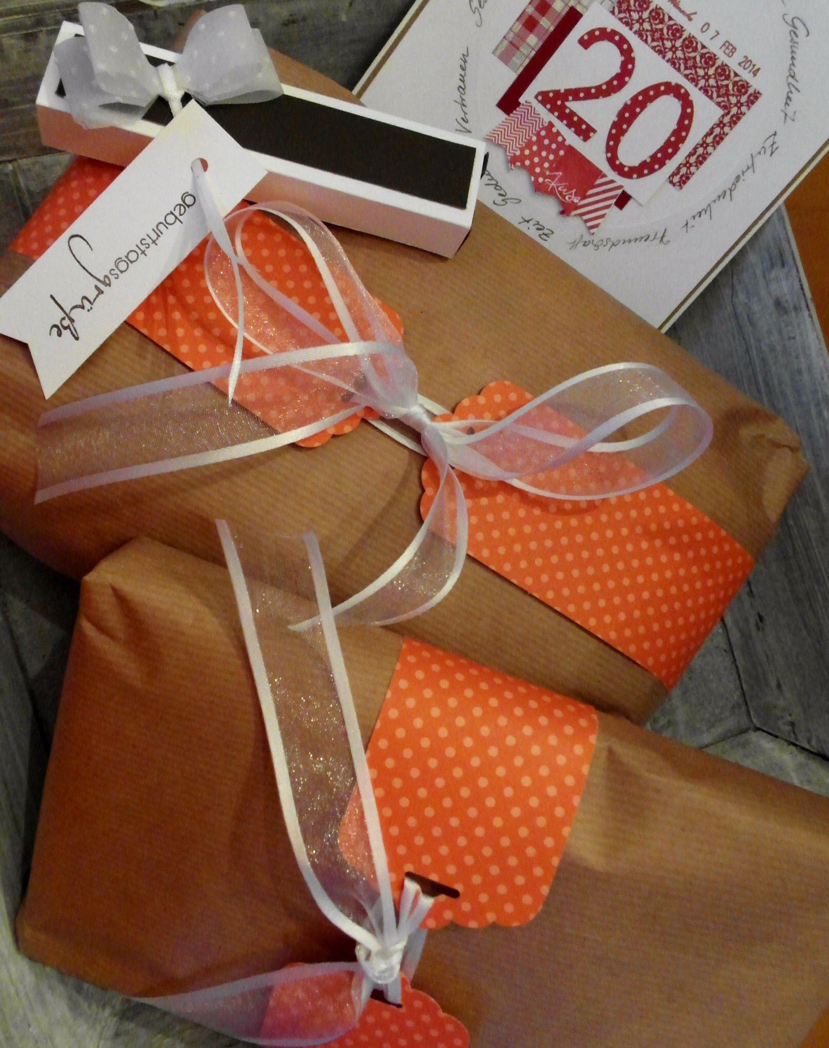 """Geschenkverpackung mit der Stanze """"Gewellter Anhänger"""" von SU"""