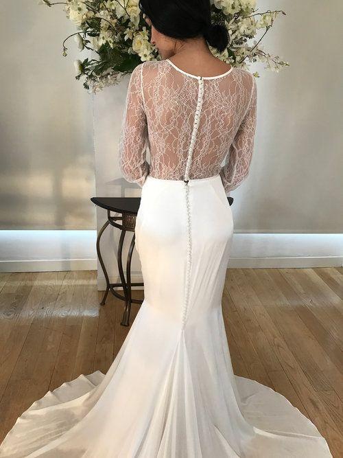 Portia Black Unique Wedding Gowns White Wedding Gowns