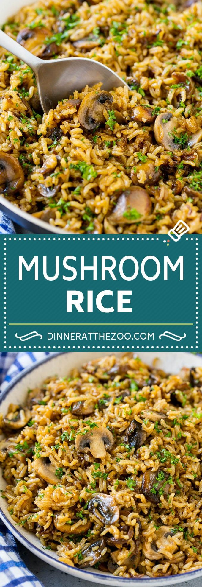 Photo of Pilz Reis Rezept | Gebackener Reis | Reispilaf #Reis #Pilze #Seitengerichte #Dinne …