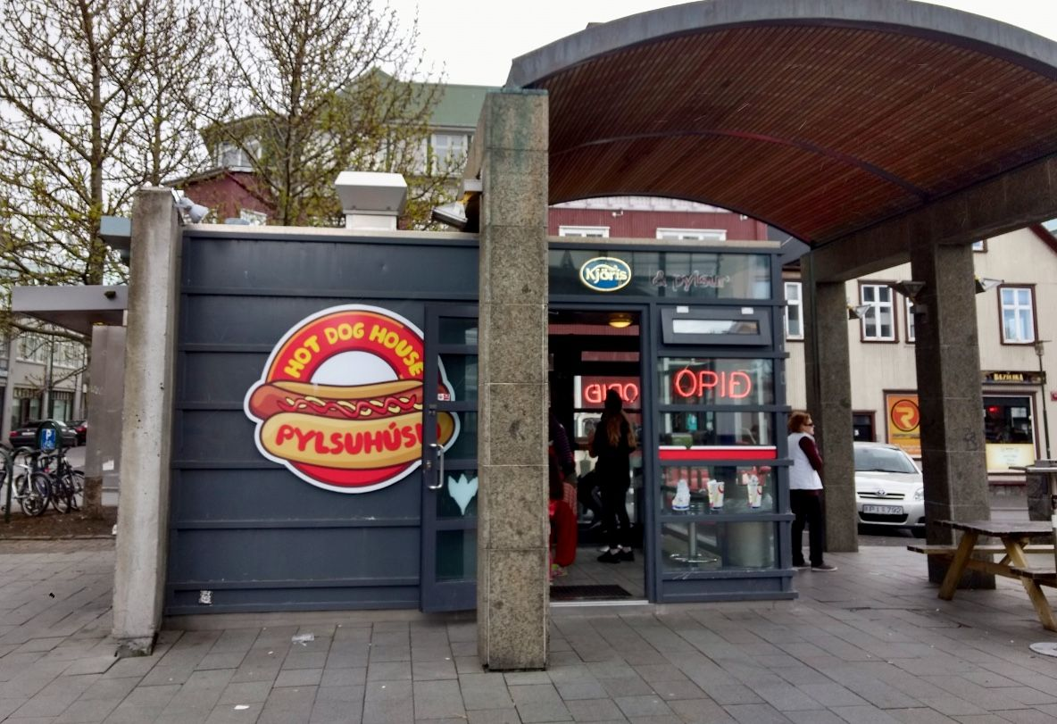 Pylsuhusid Hot Dog House Reykjavik Iceland With Images Dog House