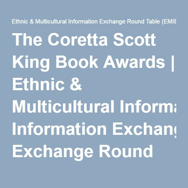 The Coretta Scott King Book Awards Book Selections Pinterest