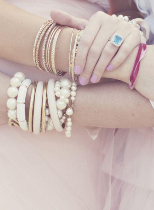 bracelets. New love.