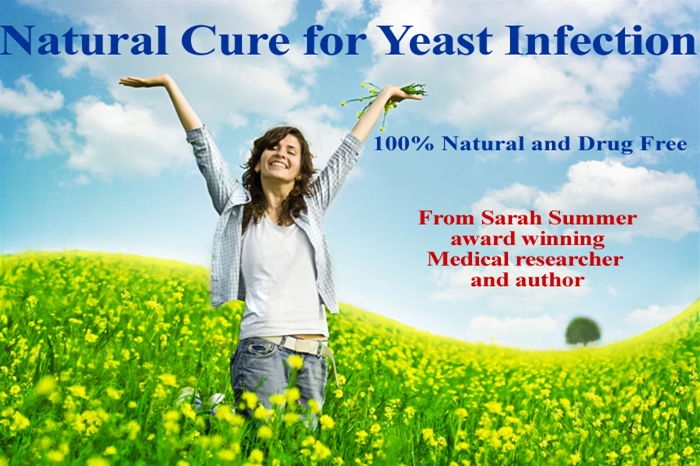 Natural Cure for Yeast Infection - Get rid of Candida, yeast, thrush infection, Natural…
