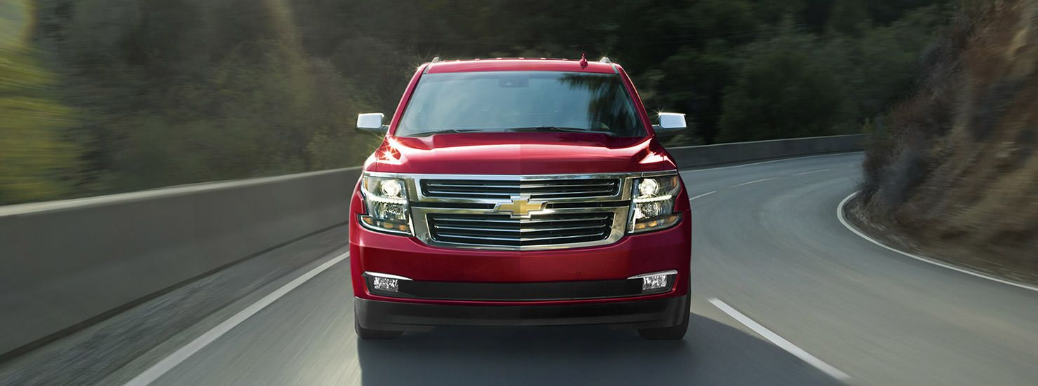 2017 tahoe full size suv front siren red at chevrolet cadillac of santa fe
